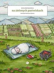 Na zielonych Pastwiskach - kolorowanka