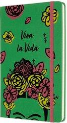 Notes Frida Kahlo 13x21 linia EL zielony MOLESKINE