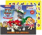 Psi Patrol Zabawa w kolory Pieski na medal