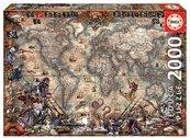 Puzzle 2000 Mapa piratów G3