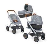 Wózek filcowy spacerówka i gondola 3w1