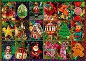Puzzle 1000 Świąteczne ozdoby