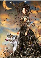 Puzzle 1000 Piękność z wilkiem