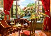 Puzzle 1000 Studio z widokiem na piekną chatkę