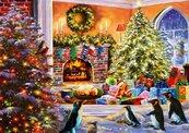 Puzzle 1000 Magiczny obraz świąt