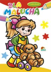 Książka do kolorowania Dla Malucha p20 KRZESIEK, cena za 1 sztukę
