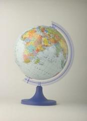 Globus 250 polityczny w pudełku ZACHEM 0812