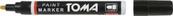 Marker olejowy TOMA czarny 440 p12. TOMA/ cena za 1szt.
