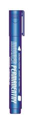 Marker permanentny niebieski końcówka okrągła p12. TETIS cena za 1szt.