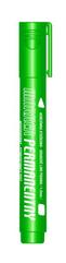 Marker permanentny zielony końcówka okrągła KM102-ZO p12 TETIS cena za 1szt.