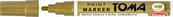 Marker olejowy TOMA złoty /12 (cena za 1szt)