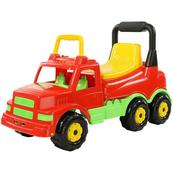 Wader-Polesie 43634 Pojazd z siedzeniem czerwony w worku
