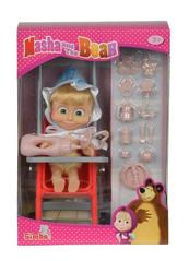 Lalka Masza w stroju dziecka z akcesoriami Simba