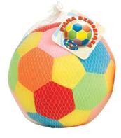 Piłka welur mała z dzwonkiem w siatce DROMADER