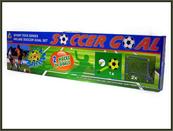 Bramki 2szt +piłka 84x66cm w pudełku HIPO