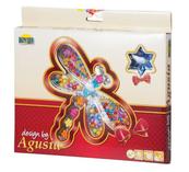 Koraliki Agusi w pudełku - motyl DROMADER