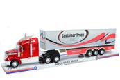 Auto ciężarowe z naczepą w pudełku GAZELO