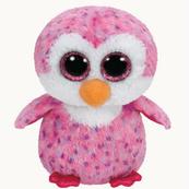 TY BEANIE BOOS GLIDER - pink penguin 15cm 36177