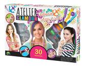 Atelier Glamour Kolorowe włosy i ciało w pudełku 00859 DROMADER