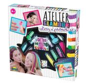 Atelier Glamour Włosy i paznokcie w pudełku 00867 DROMADER