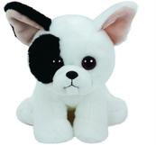 TY BEANIE BABIES biały pies MUJEEK 15cm 41203