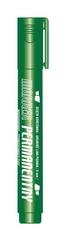 Marker permanentny zielony końcówka ścięta KM101-S p12 TETIS, cena za 1szt.