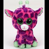 TY BEANIE BOOS GILBERT - różowa żyrafa 24cm 37142