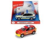 SOS Samochód Safety Unit 2 wzory straż/policja Dickie
