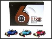 Auto retro 12cm 3kol św/dźw p12 HIPO, cena za 1szt.