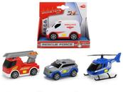 Pojazdy Rescue Force 3wz. p12 DICKIE, cena za 1szt.MIX