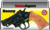 PROMO Rewolwer Bonny Agent 12-shot 238mm 0342