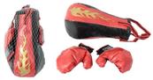 Zestaw bokserski gruszka w siatce NO-1000502