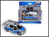 Auto Policja Van z dźwiękiem 14cm w pud. SW-15-04-WB HIPO