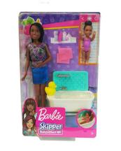 Barbie Skipper Opiekunka zestaw + lalki FHY97 MATTEL mix