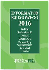 Informator księgowego 2016 St. praw.05/16