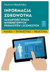 Informacja zdrowotna