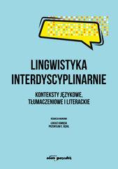 Lingwistyka interdyscyplinarnie.