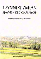Czynniki zmian zjawisk regionalnych