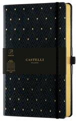 Notatnik 13x21cm linia Castelli Gold Dimonds