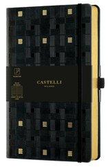 Notatnik 13x21cm linia Castelli Gold Weaving