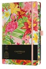Notatnik 13x21cm linia Castelli Eden Flamingo