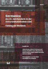 Germanica des 16 Jahrhunderts in der Universitätsbibliothek Łódź