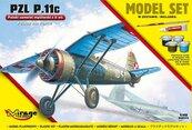 Polski samolot myśliwski z II wś PZL P.11c