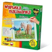 Wypukła malowanka Konie - Haflinger