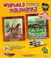 Wypukła malowanka Konie - Harkney + Holenderski