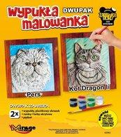 Wypukła malowanka Koty - Pers + Dragon Li