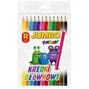 Kredki ołówkowe Jumbo 12 kolorów