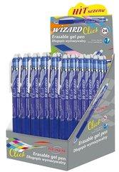 Długopis wymazywalny Wizard 0.7 niebieski (24szt)