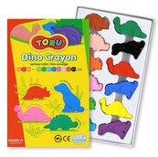 Kredki Dino 12 kolorów DONG-A