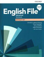 English File 4e Advanced Workbook without Key